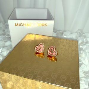 $50... Michael Kors rose gold earrings... boxed!!